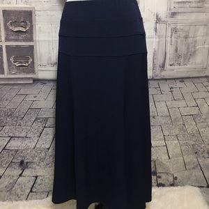 Dressbarn Navy Blue Stretch Skirt