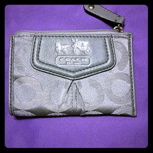 New coach coin purse