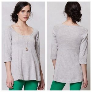 Anthropologie Deletta Pathed Seams Top