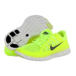 Nike Free 5.0 Neon Green