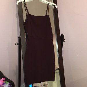 Nordstrom Burgundy slip dress (only worn once)