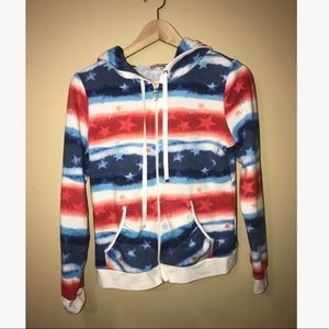 Juicy Couture Stars and Stripes Sweatshirt -Size S