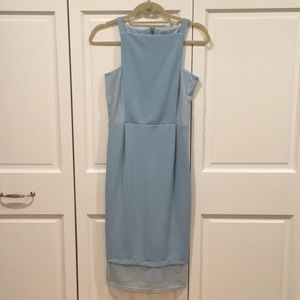 ASOS powder blue dress