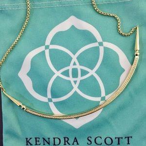 "NWOT Kendra Scott ""Scottie"" Gold Choker"
