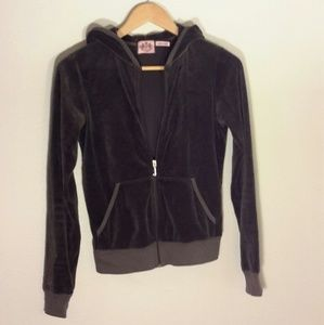Juicy Couture Velour Full Zip Hoodie