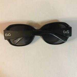 Authentic black D&G sunglasses