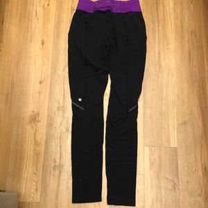 Lululemon sweatpants ( like fleece ) size 4 tall