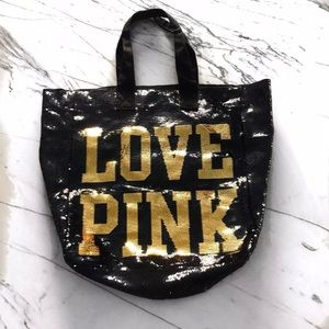 LIMITED EDITION VS PINK Bling Bag