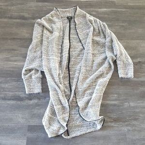 Grey Mossimo Oversized Cardigan Long Sleeve