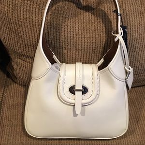 NWT Dooney & Bourke White leather Hobo 🎄🎁
