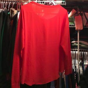 Red Ann Taylor Loft Sweater