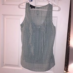 AGB S M Tank Top Blouse w Bow