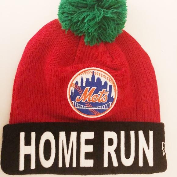 "ba5b3002554 New York Mets ""Big Apple"" Beanie! NWT"