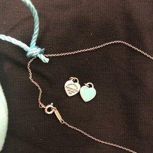 Tiffany necklace and pendants