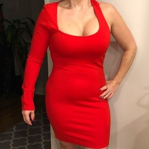 Bright Christmas RED dress