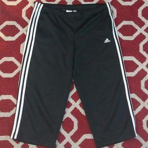 Sz M Climalite Adidas capri short pants