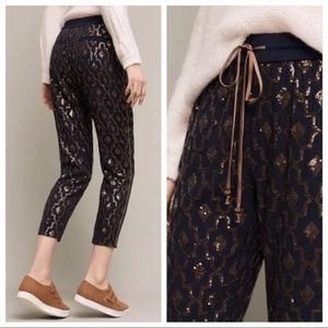 NEW Anthro x Hei Hei Siddah Jogger Sequined