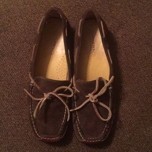 Sperry Top-spider leather/suede woman's size 7