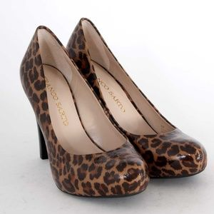 Franco Sarto Cicero Cheetah Leopard Animal Pumps
