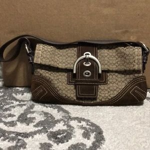 Small vintage coach purse