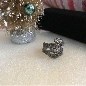 Vintage Spoon Ring Silver