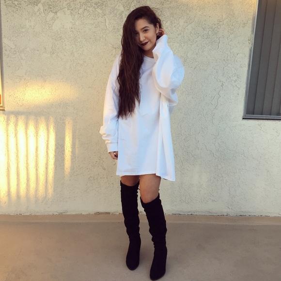 9781d0225def Dresses | Oversized Long Sleeve Tshirt Dress | Poshmark
