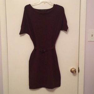 The limited merino wool dress