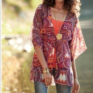 CAbi sheer kimono