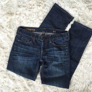 J. Crew Matchstick Straight Leg Jeans Size 28S