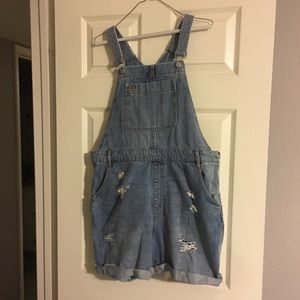 Woman overalls