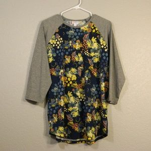 Lularoe Minnie Mouse 2XL Randy with Gray Sleeves