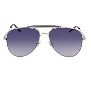 Yves Saint Laurent SL 85 004 Sunglasses in Silver