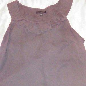 Woman size L ,charcoal grey dress top