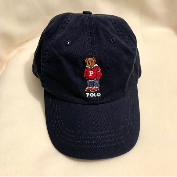 f7bbbb3a Polo by Ralph Lauren Accessories | Nwot Polo Bear Cap | Poshmark