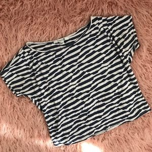 Forever 21 Trippy Striped Crop Top {S1}
