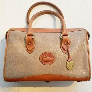 Tutone genuine leather Dooney and Bourke purse