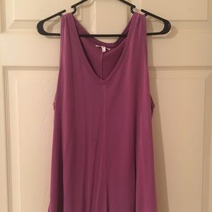 Purple Maurices layering tank