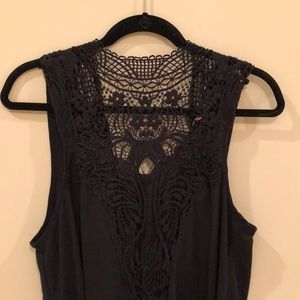 Altar'D State Embroidered Tunic Top