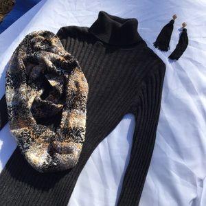 BCBG Sweater tunic dress