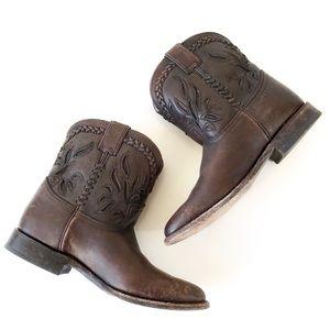 F R Y E • Wyatt Overlay Short Boots