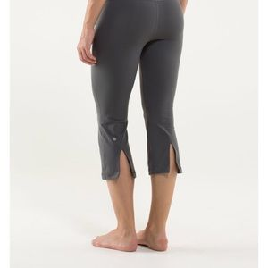 Lululemon Crop Pants With Slits