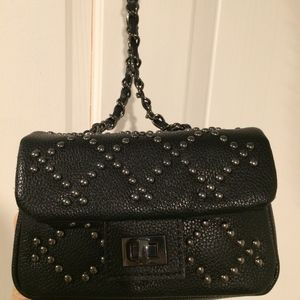 Forever21 Mini Faux Leather Crossbody Bag