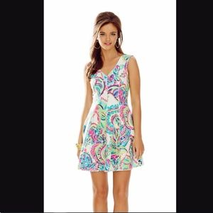 Lilly Pulitzer | Dahlia Fit 'N' Flare Toucan Play