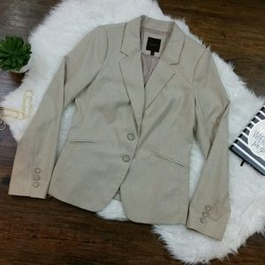 THE LIMITED EDITION TAN BLAZER SIZE 8