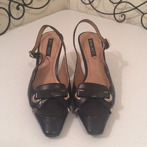 NINE WEST Leather Heels