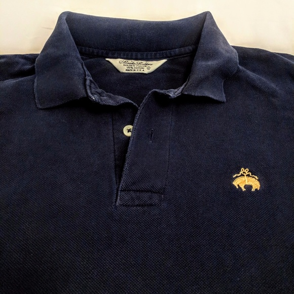 c62b43d2 Brooks Brothers Other - Brooks Brothers Men's Blue Polo Gold Logo USA Made