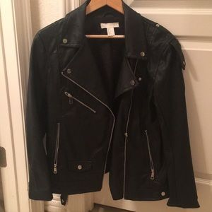 Brand new faux leather jacket!