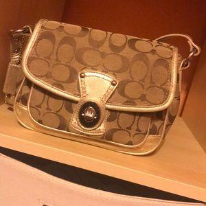 💐Small coach purse