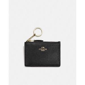 NEW Coach Mini ID Case Wallet