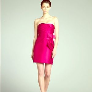 Phoebe Couture Magenta Bow Party Dress Size 10